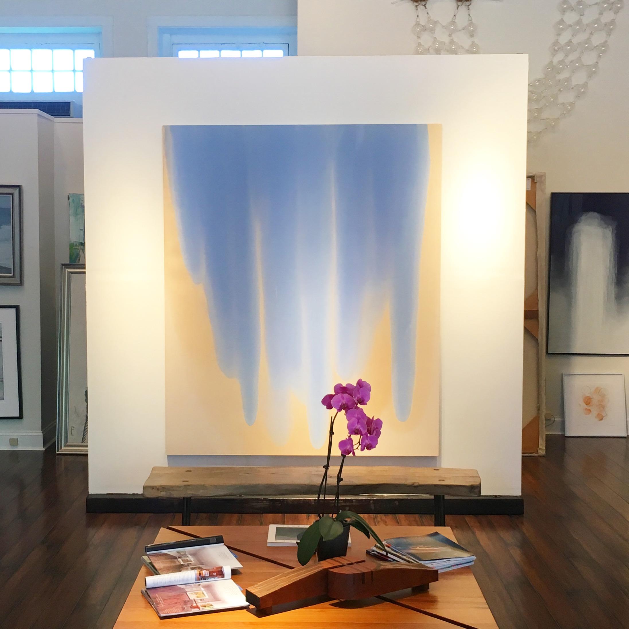 Big Blue Pour at Atelier Newport.