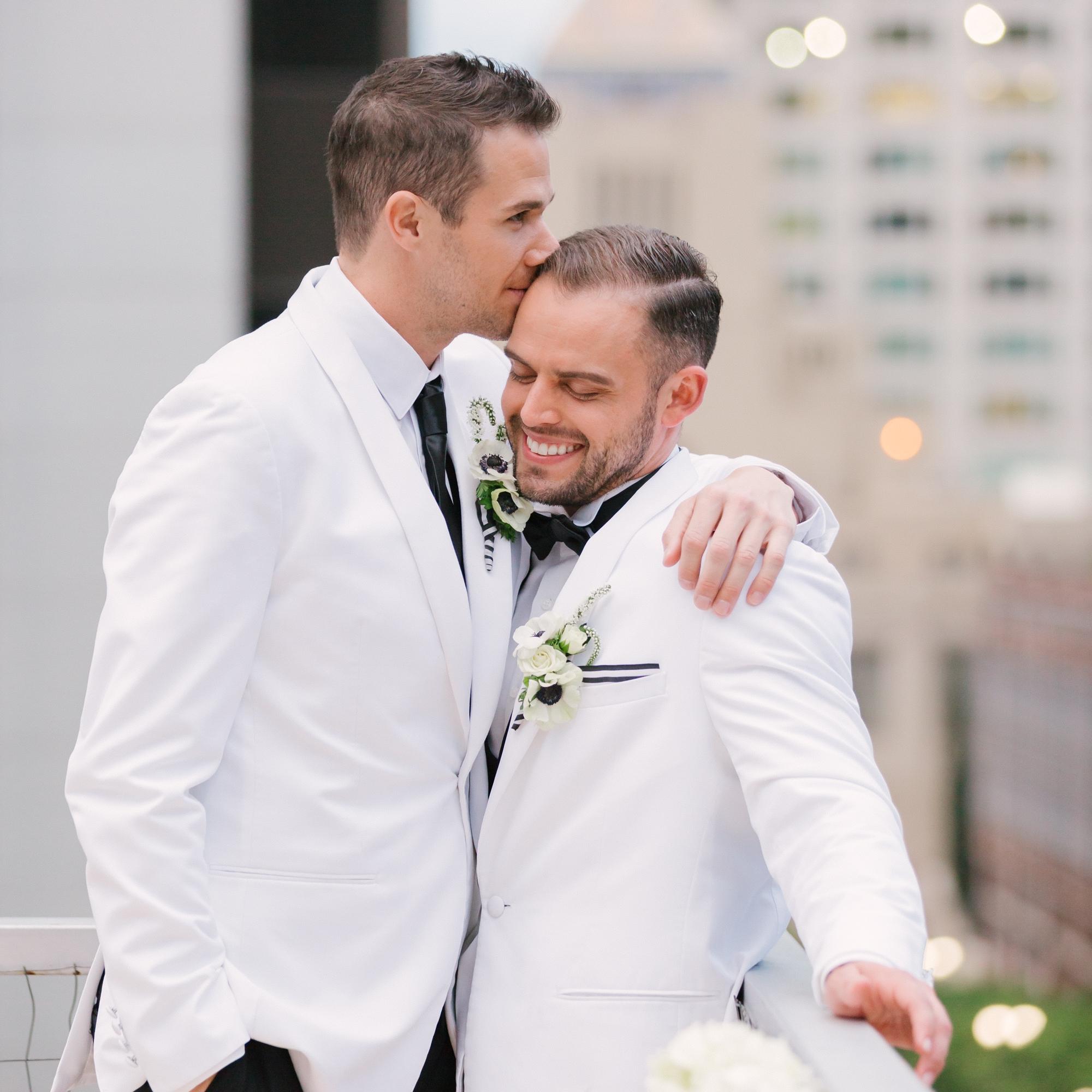 STYLED SHOOT: SAME SEX STRIPE THEMED WEDDING