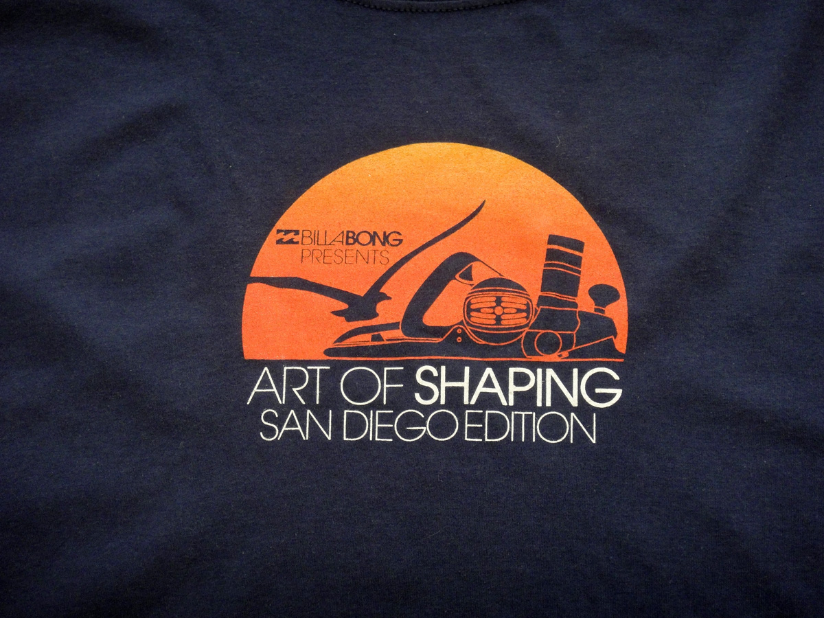Art of Shaping - San Diego detail