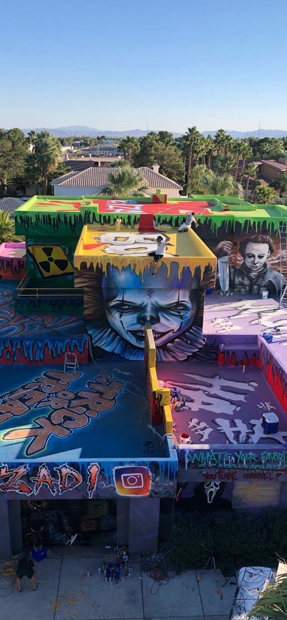 Graffiti Mansion