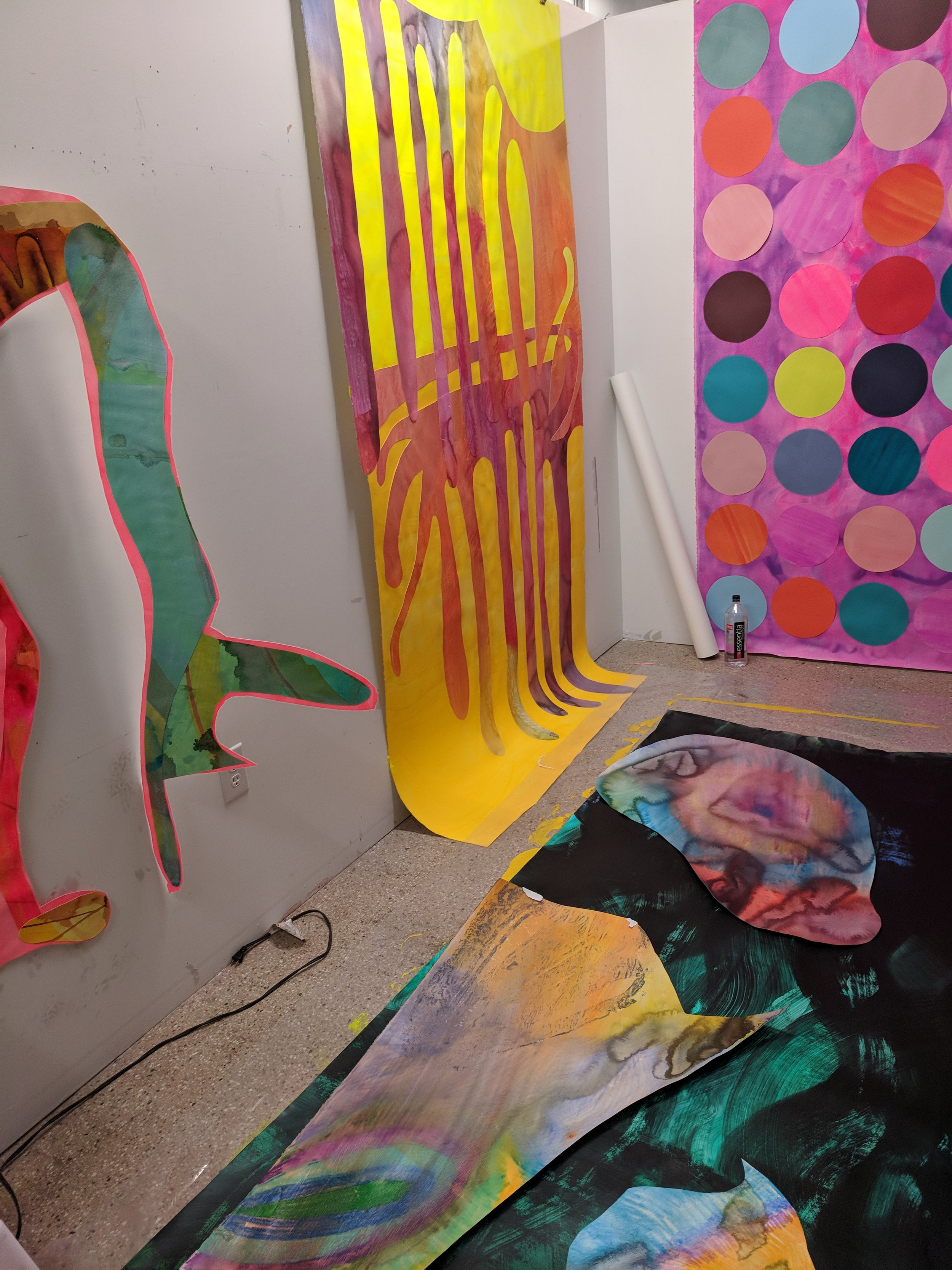 Come and visit 850 Third Ave in Brooklyn, NYC Suite 411 to visit my Open Studio on June 9 & 10th from 12 - 6PM.