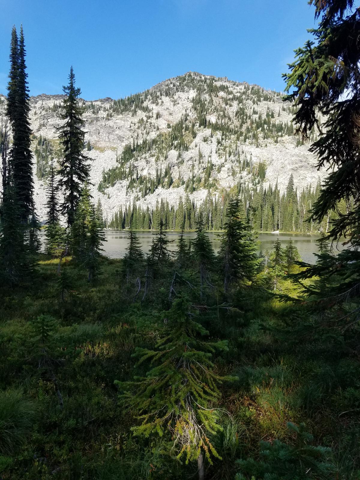 Wind Lake & Graves Peak