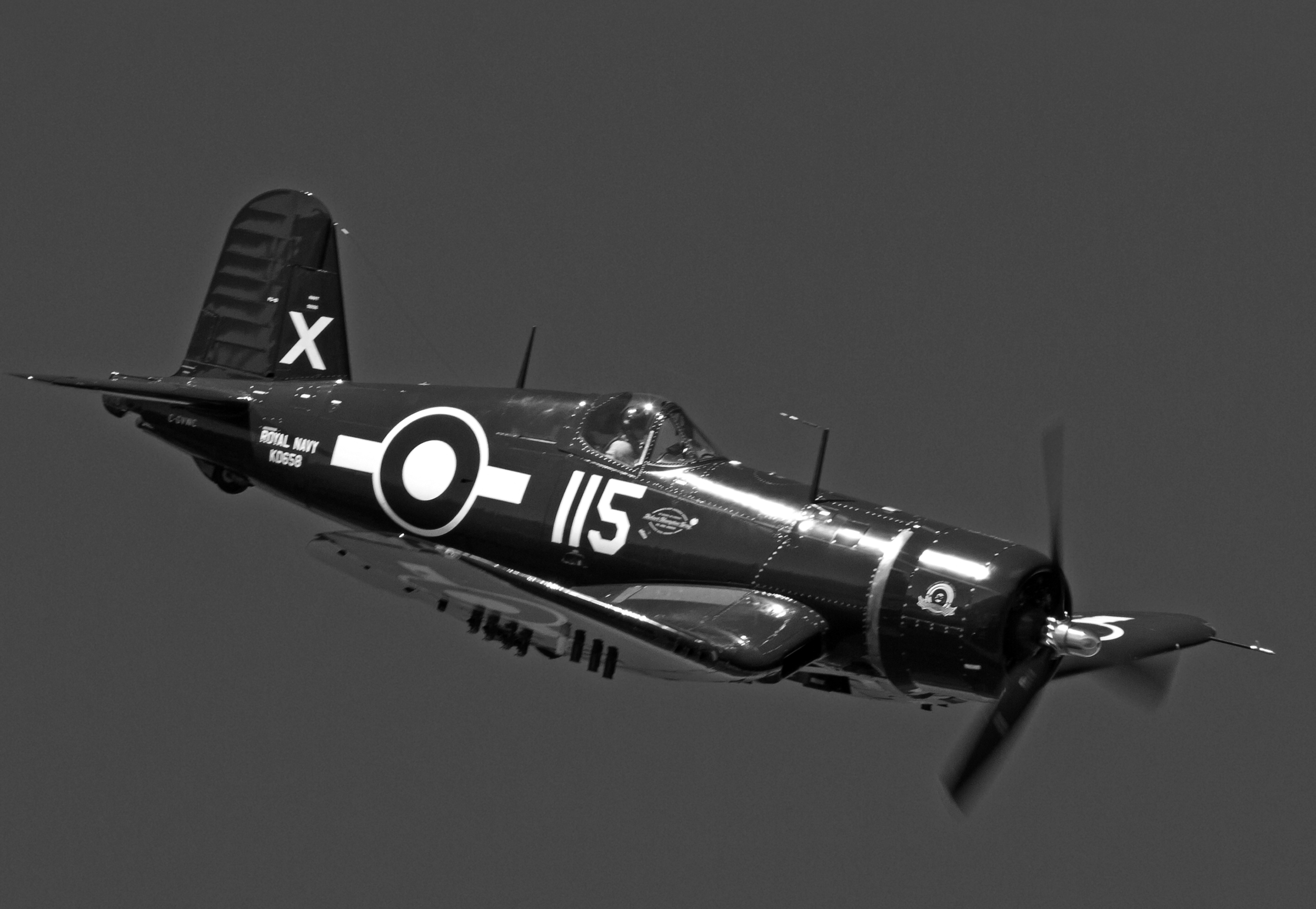 """The """"X"""" designates this as a Corsair from Formidable."""