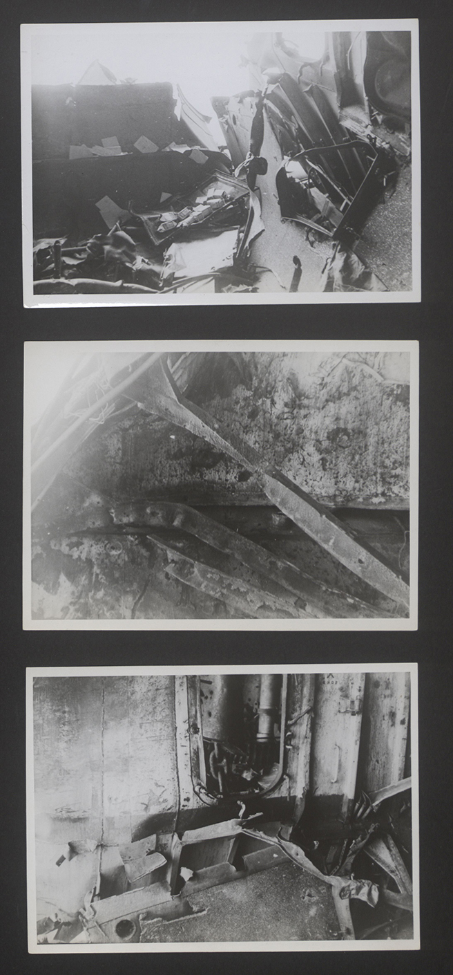 Uncaptioned photographs in ADM 267/84 Formidable's file.