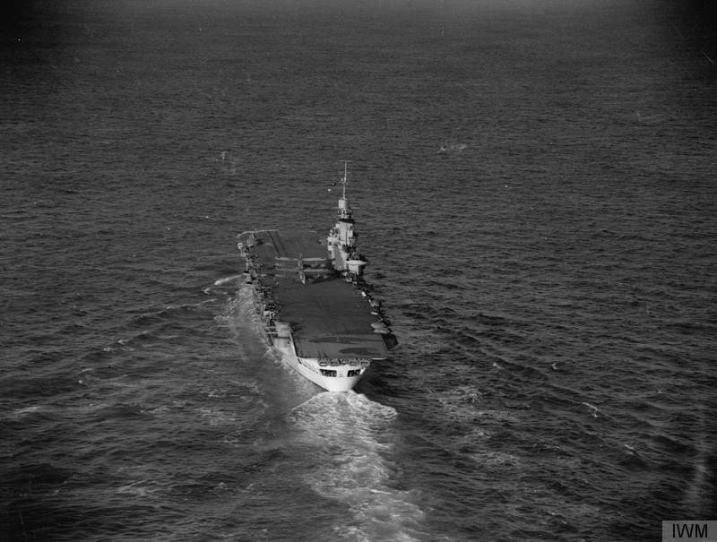 HMS VICTORIOUS in February 1942.