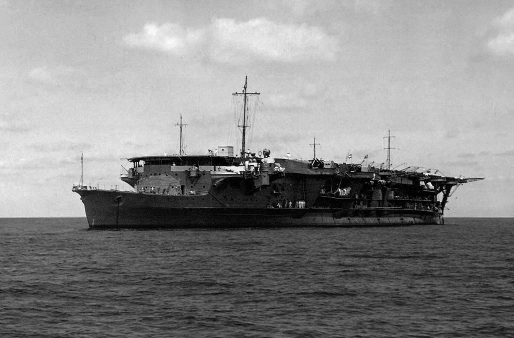 The light carrier Ryujo.