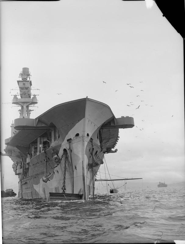 HMS EAGLE, stalwart of the Mediterranean Fleet in the opening years of World War II.