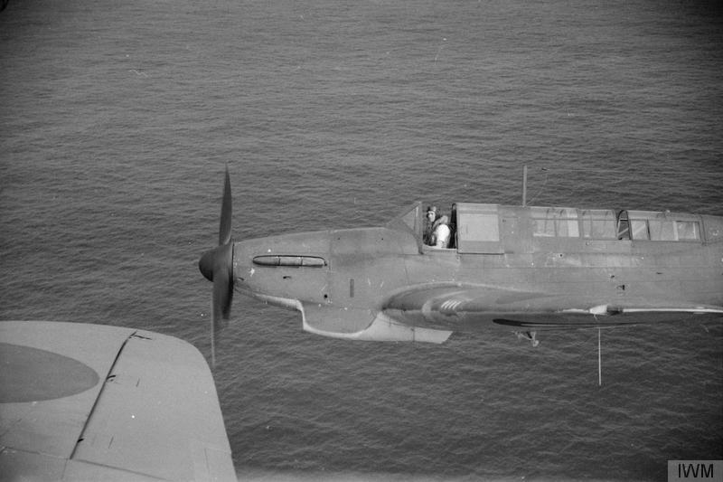 Fulmars of ARK ROYAL's 807 Squadron.
