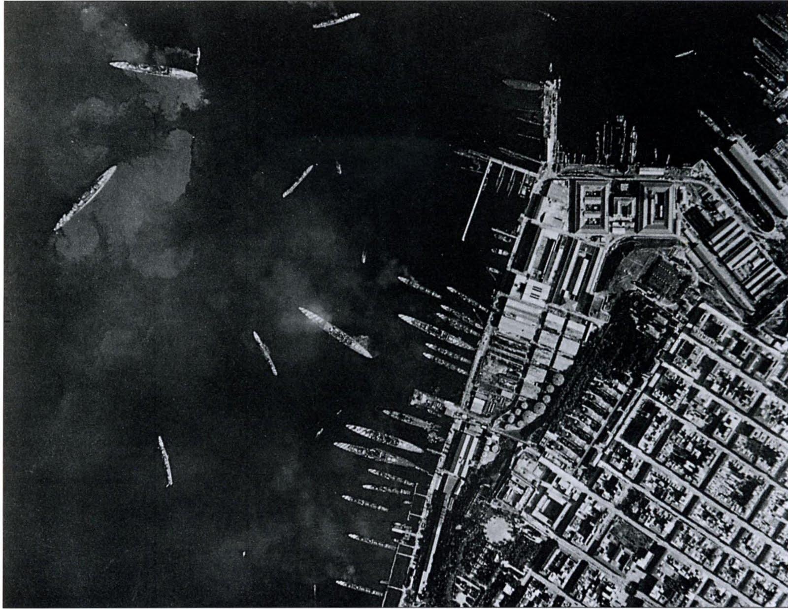 Post-attack reconnaissance image of Mare Picolo.