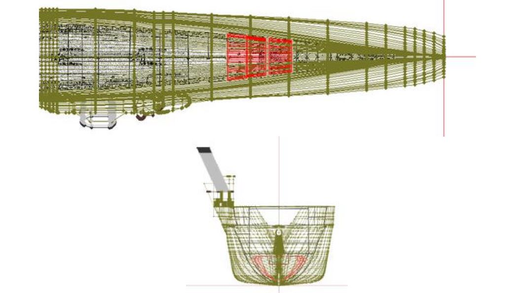 In a major design flaw, Taiho's aviation fuel storage facilities were not fully encompassed by the main belt and torpedo protection system