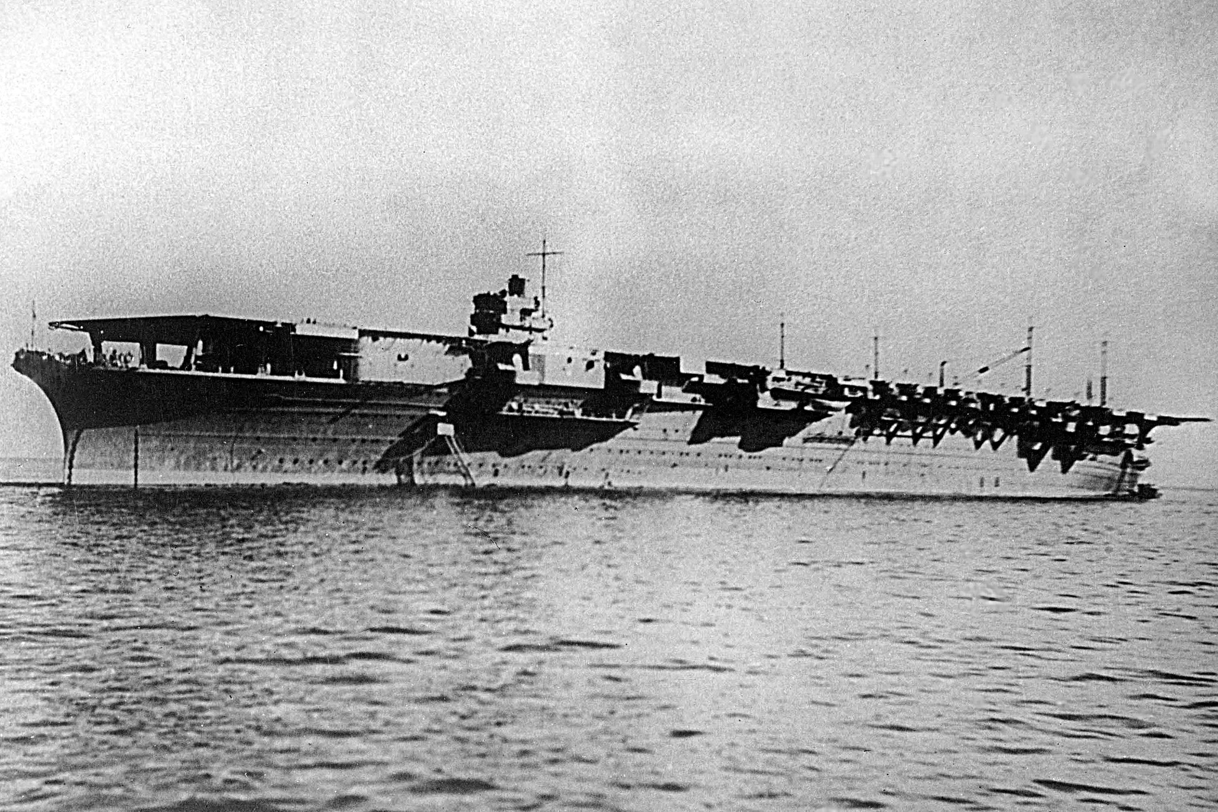 IJN Shokaku represented the template upon which future Japanese fleet carrier designs were based.