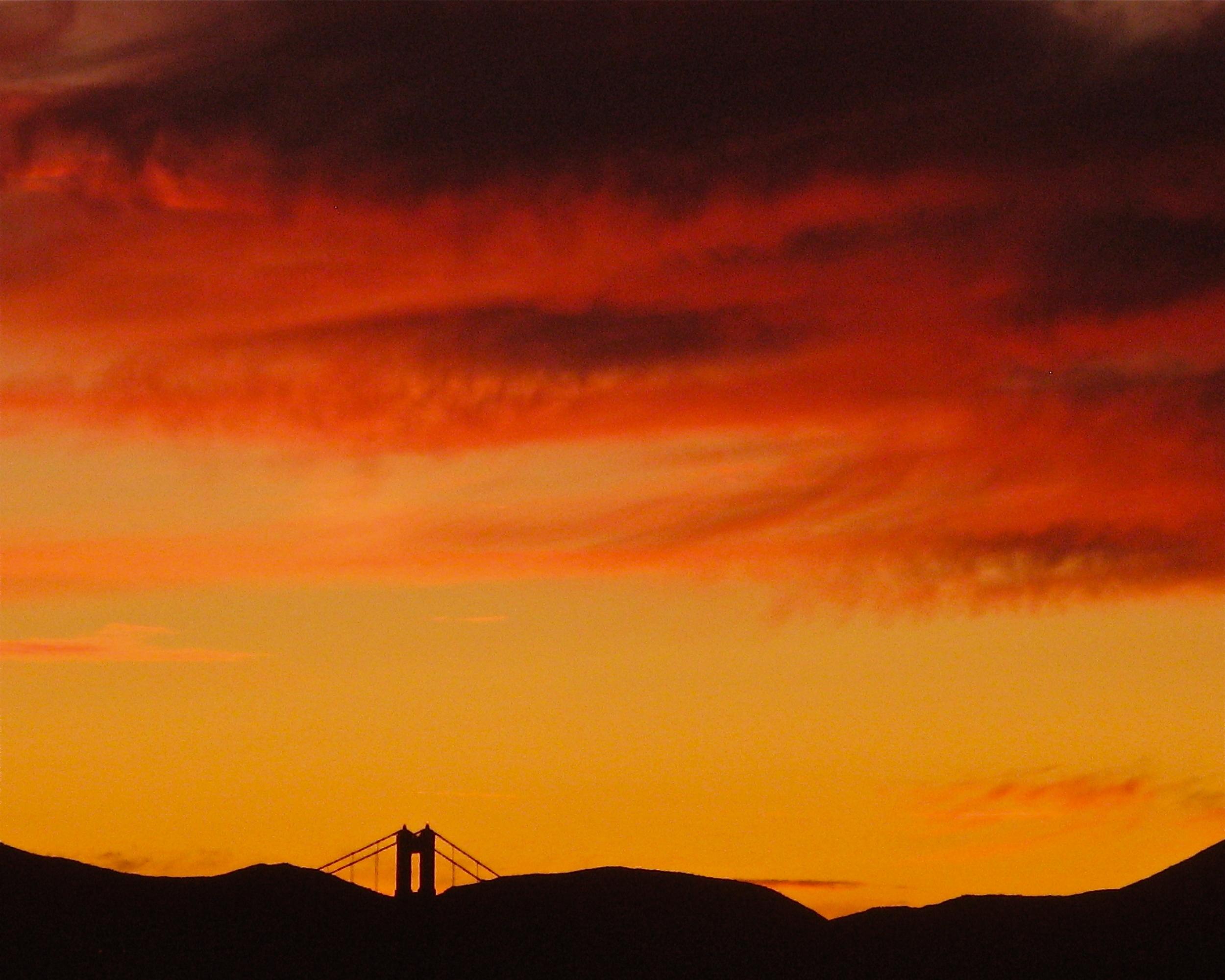 Bridge/Red Sky