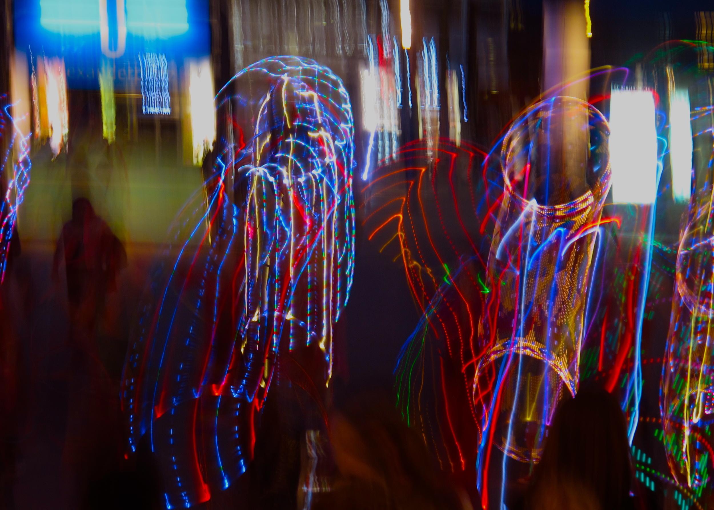 Neon Hula Hoopsters