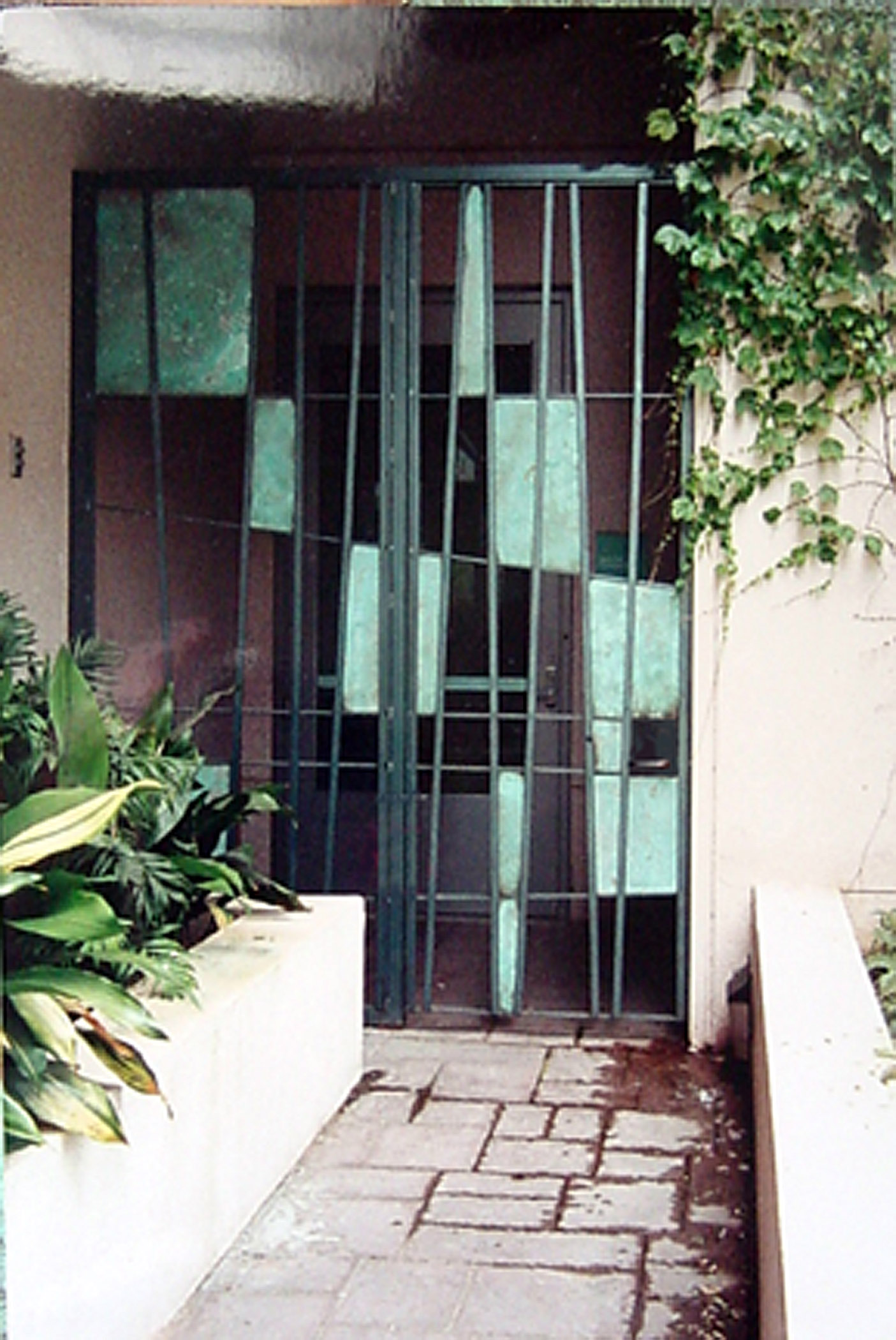 "Garden Gate  1990 Steel/Copper 102"" x 84"" UCLA Oncology Clinic"