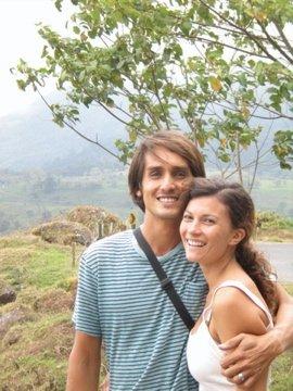 Mitch and I in Costa Rica.