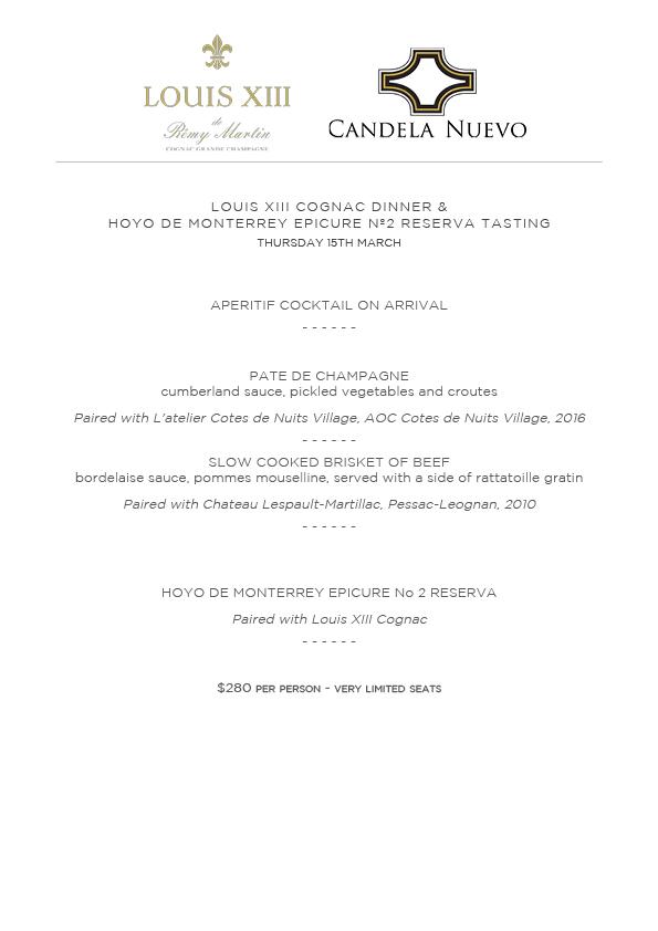 Candela Nuevo - Loius XIII Dinner.jpg