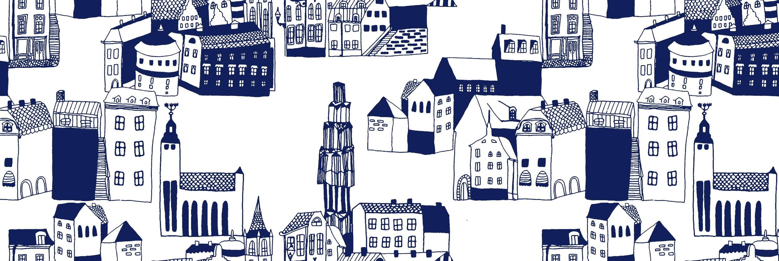 Stockholm Cityscape for funkis SS14