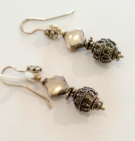 Title: Sterling Silver Earrings #214