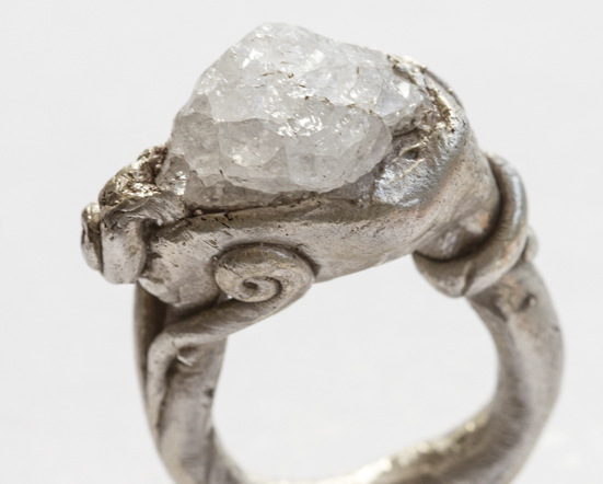 1-QUARTZ RING AND STERING SILVER size m half N $380.jpg