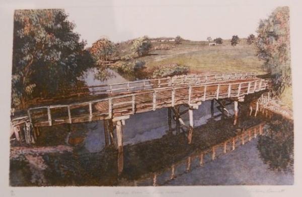 BRIDGE OVER THE RIVER WARREN