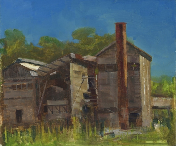DONNELLY RIVER SAWMILL by Ken Wadrop