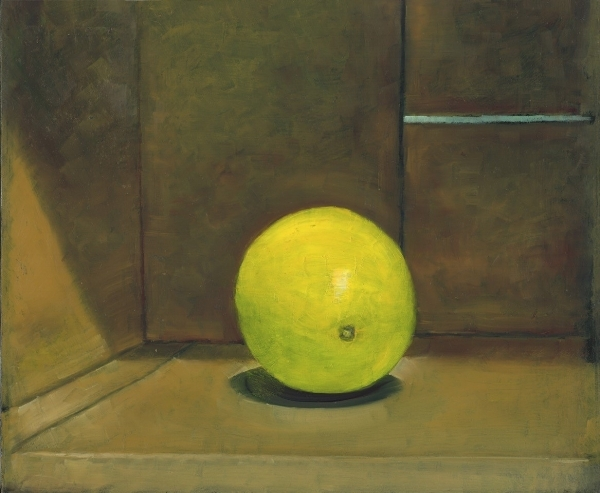 LEMON IN A CARDBOARD BOX by Ken Wadrop