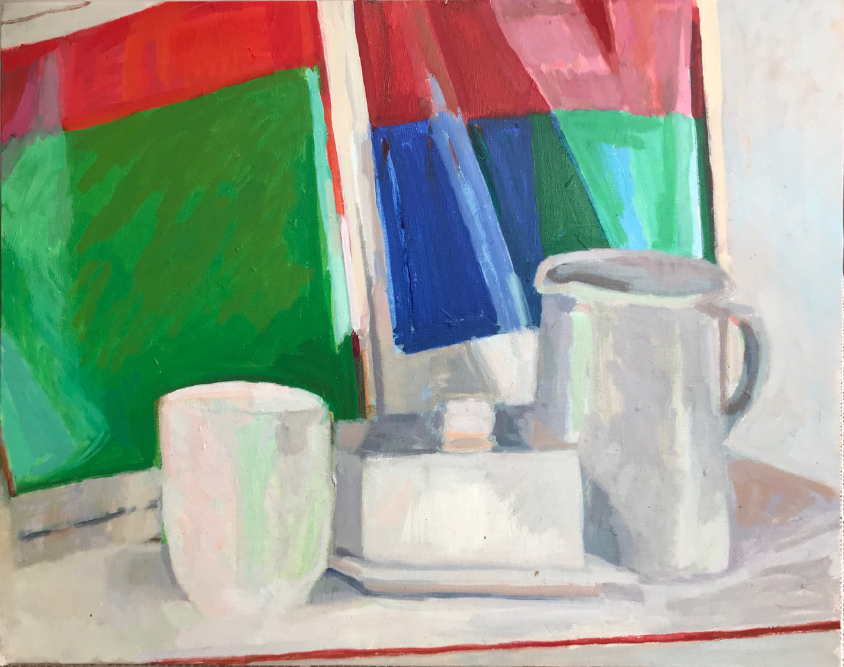 ELLSWORTH KELLY WITH WHITE STILL LIFE