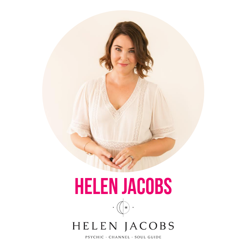 For more than a decade, Helen Jacobs has worked as a psychic and channel, teaching and mentoring individuals and groups across the globe. Through her psychic insights and down to earth approach, she helps people connect with their intuition and remember their life path and purpose.