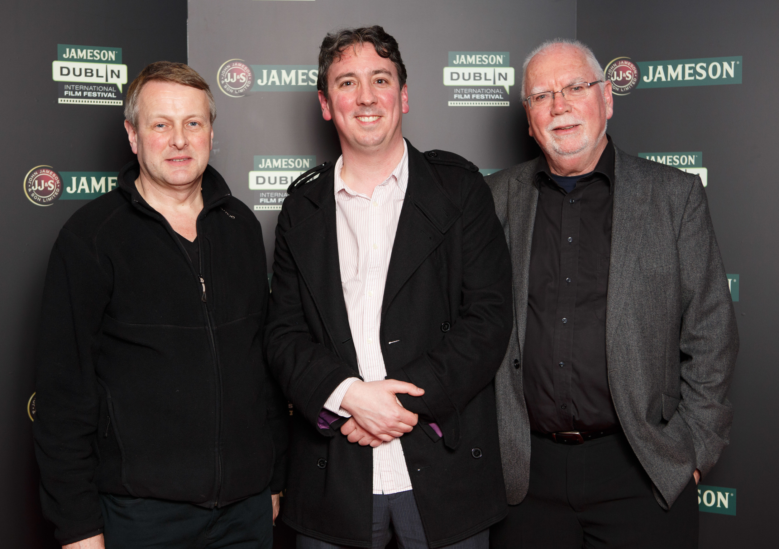 Executive Producer Stephen Rooke, Director Keith Farrell and Producer Dave Farrell
