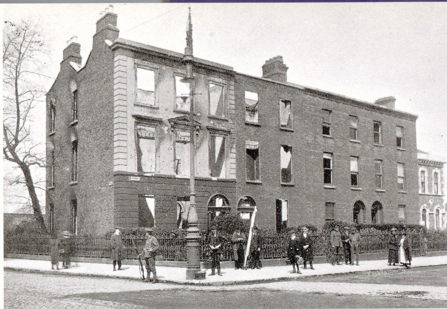 25 Northumberland Road after The Rising