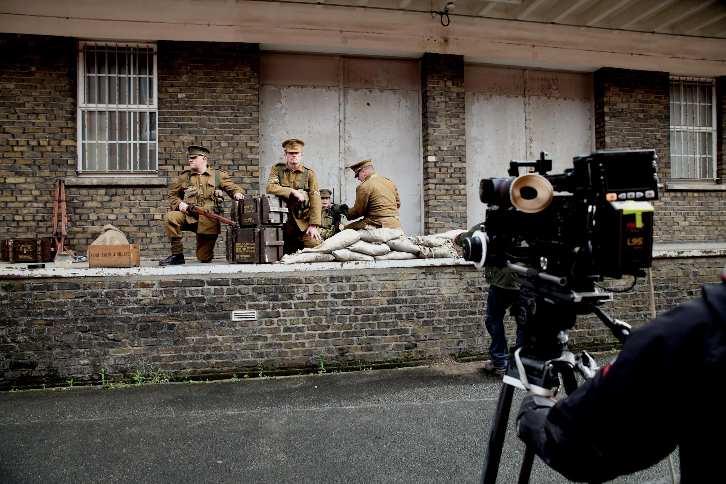 Machine Gun Nest at Cathal Brugha Barracks, Dublin.