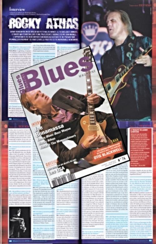 Blues Magazine - Octobre/Novembre/Decembre 2014 N 74