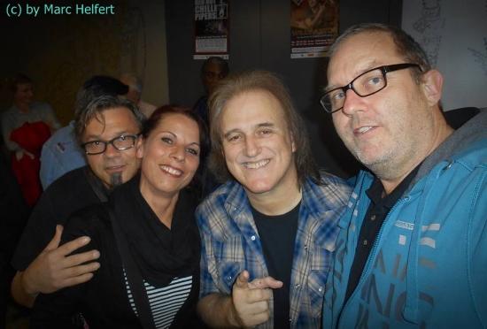 With Marc Helfert & friends. Photo courtesy of Marc Helfert.