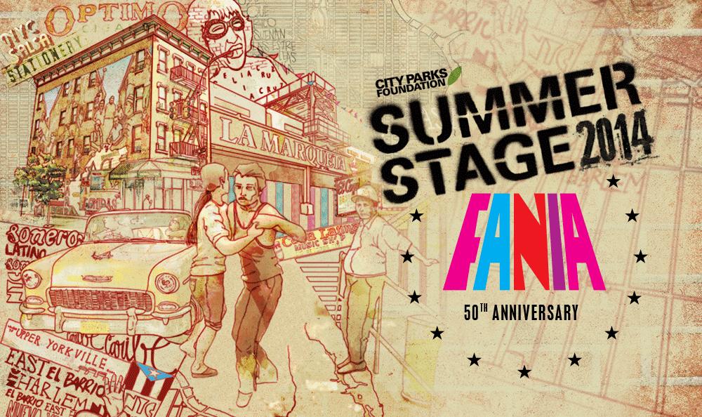 Key Art - Fania at SummerStage