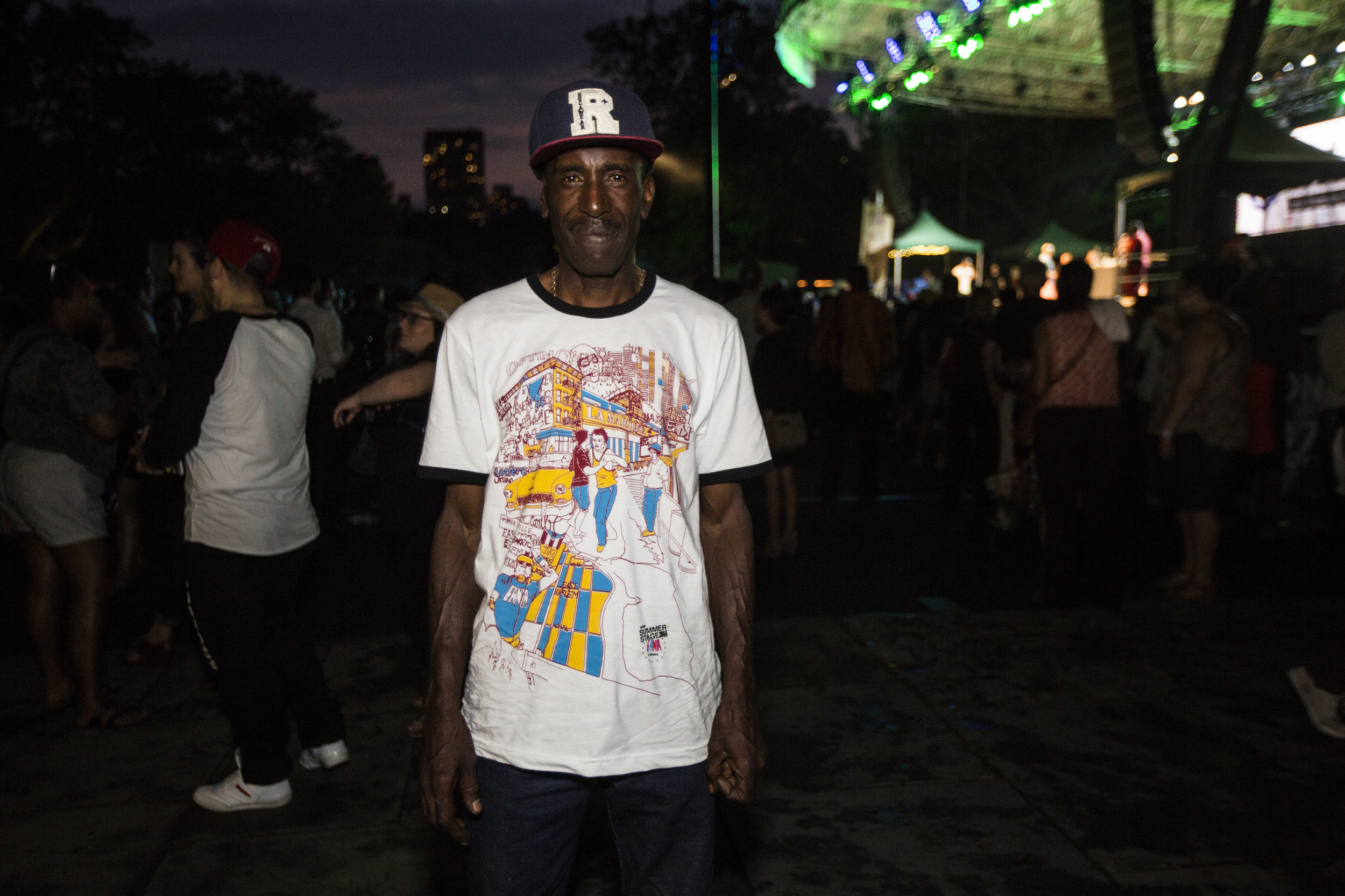 Fania at SummerStage T-Shirt