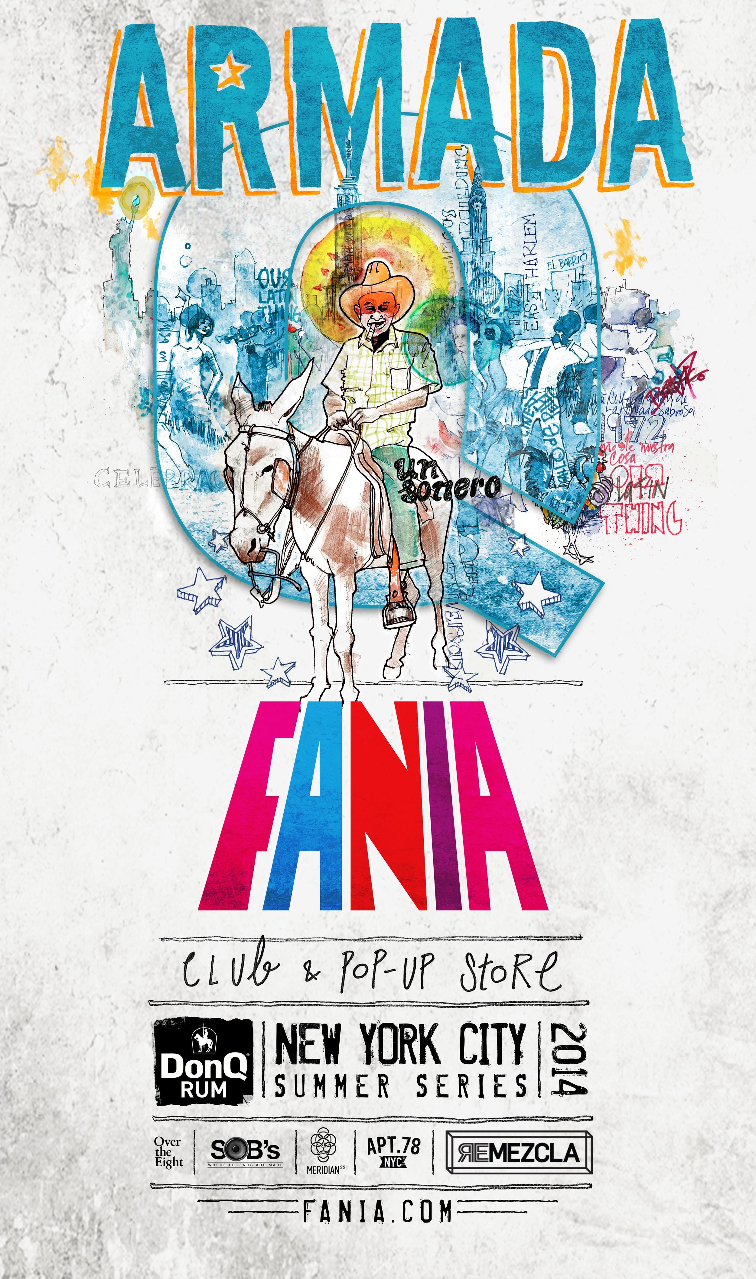 Key Art - Armada Fania 2014