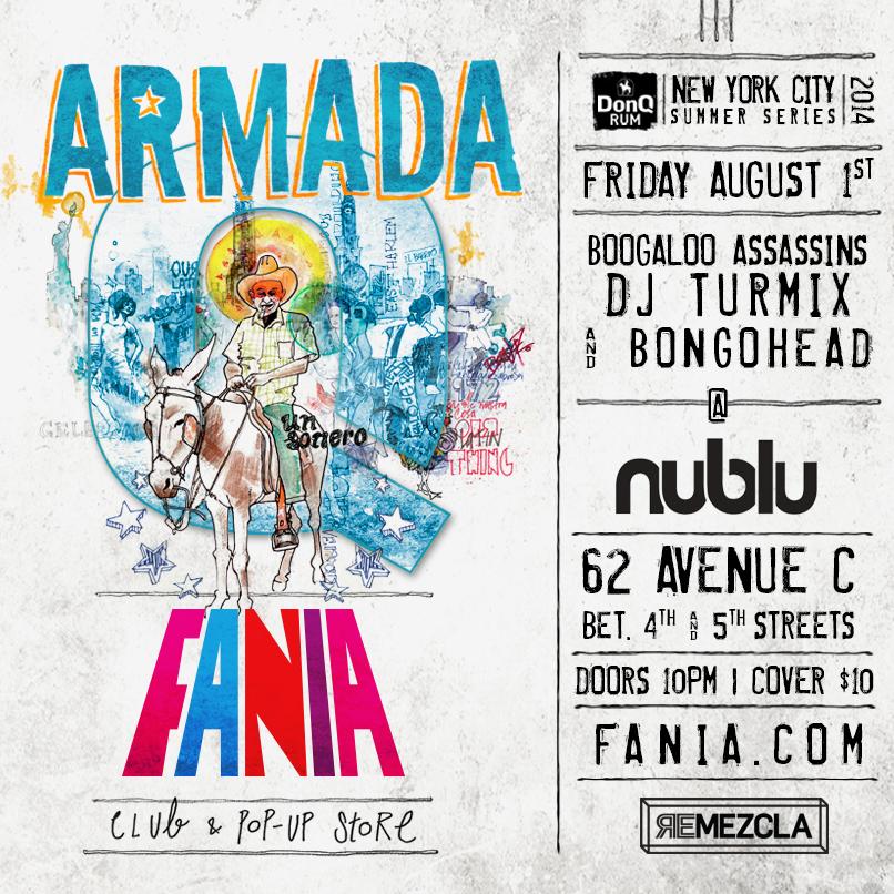 Armada Fania Digital Flyer