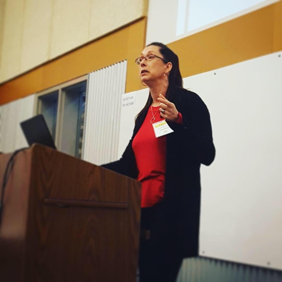 Guest speaker Carolyn Becker
