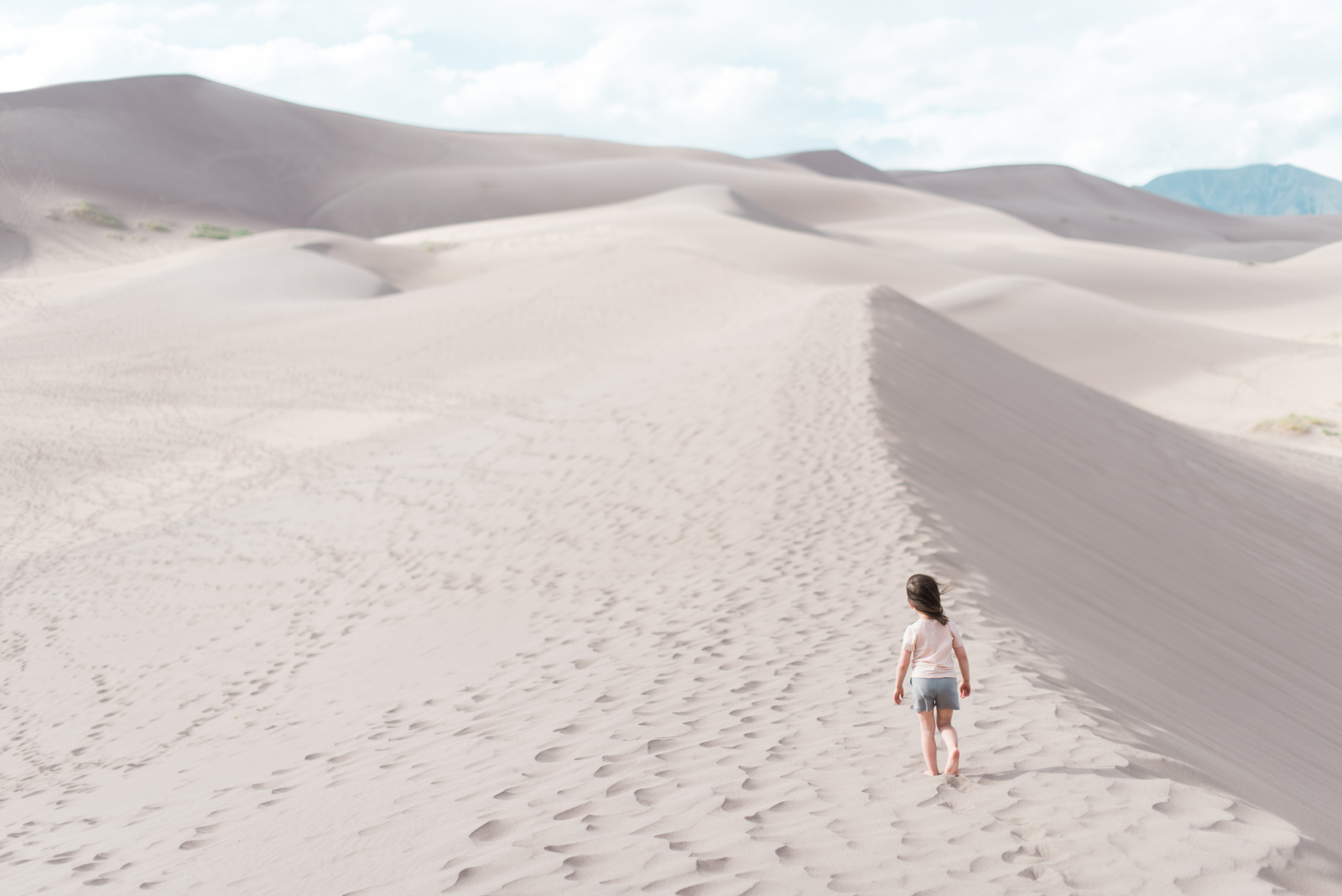 Following our little girl's lead and seeing the world through her eyes...  (Pictured wearing our  Go Outside Merino Tee and Shorts ).