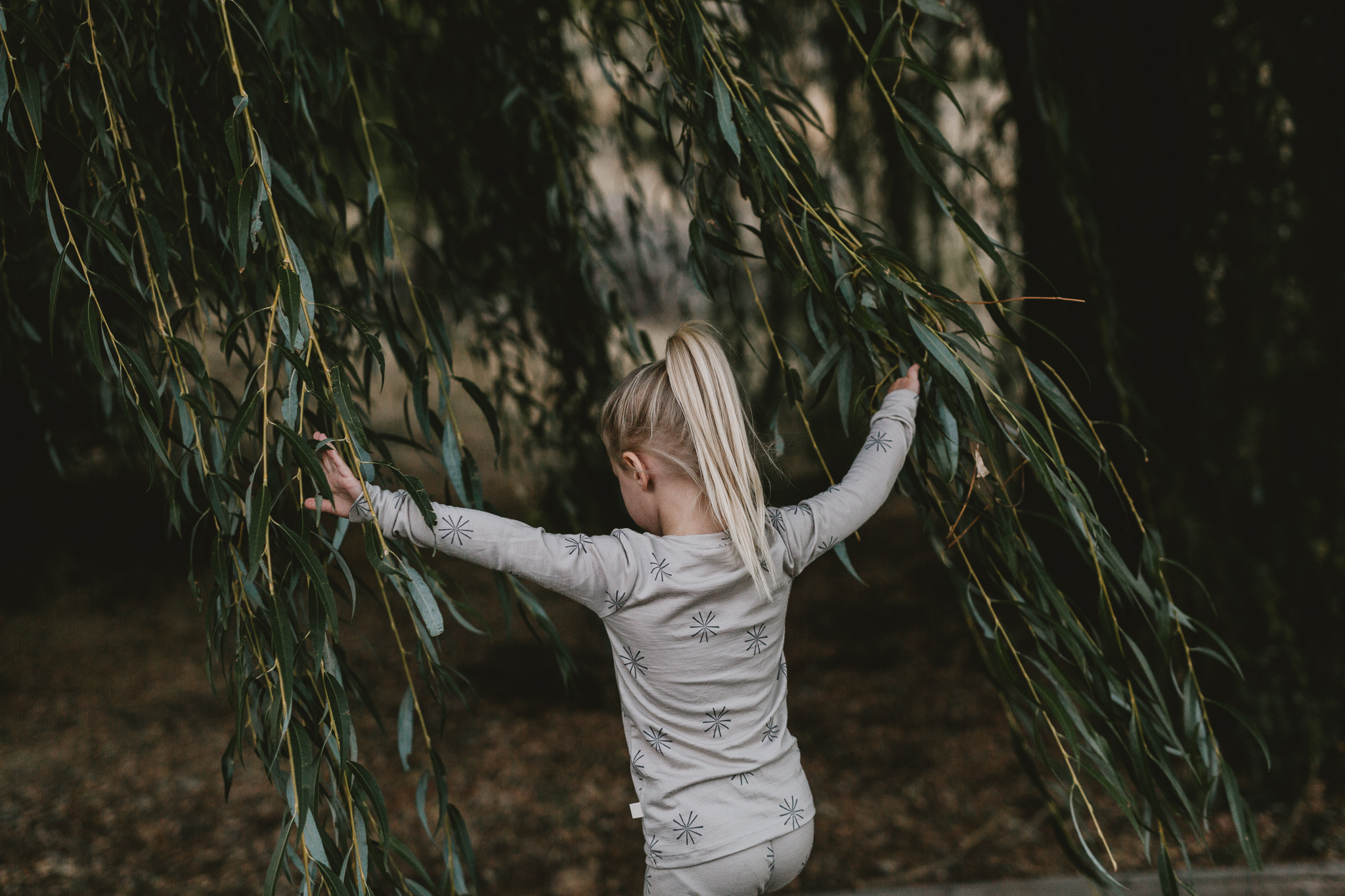 A self-appointed inspector of all things natural (pictured in our  Thermal Long Johns ). Photo by Jess Hunter.