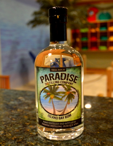 Island Bay Rum Paradise Distillery Dubuque
