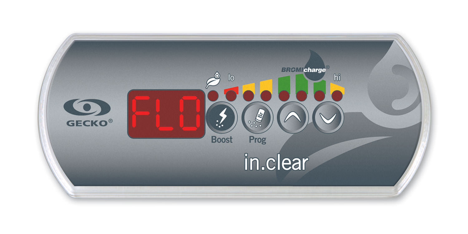 in.clear keypad FLO message