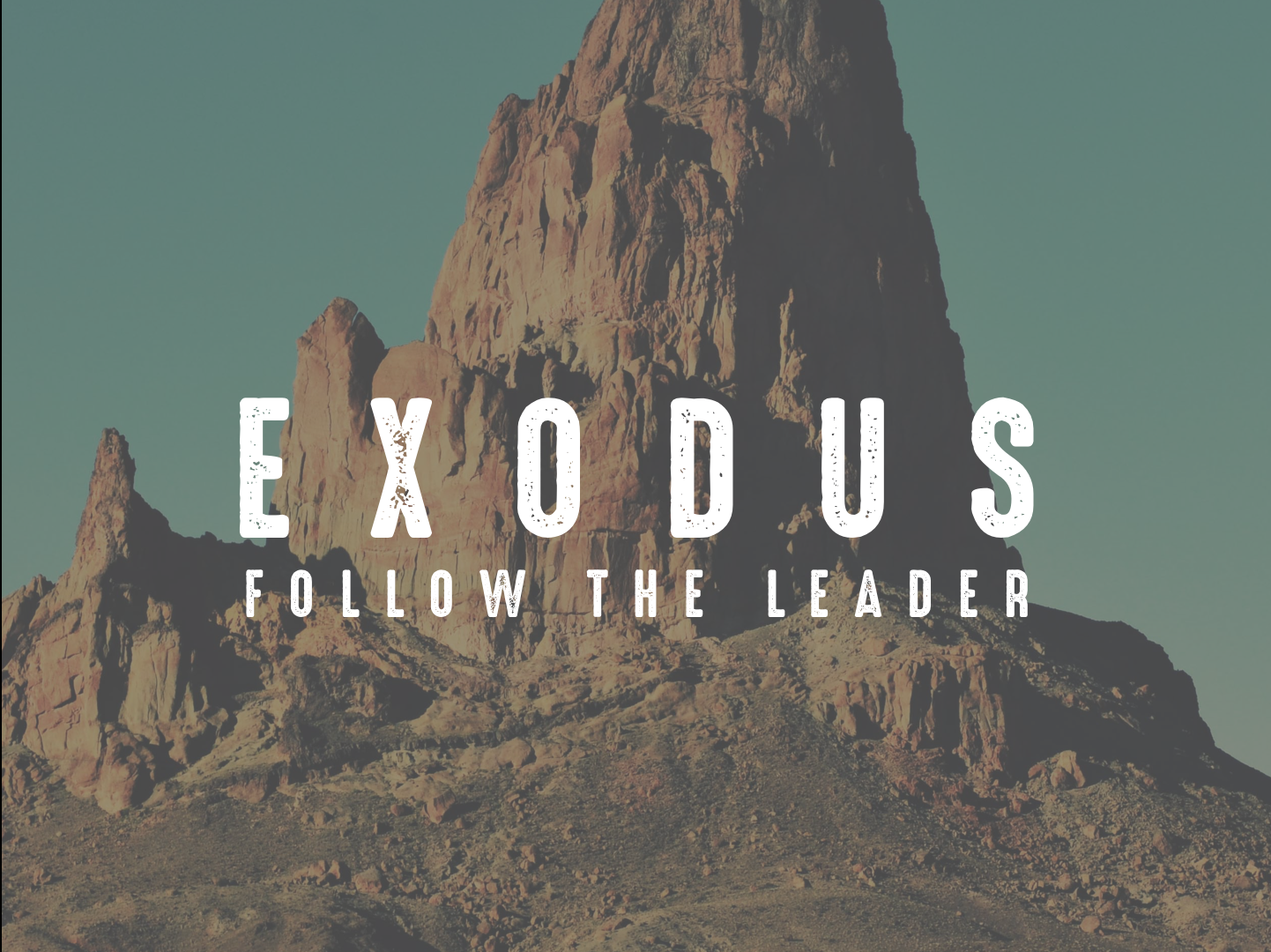 Follow the Leader  The story of Moses and the Israelites is one of the most well-known stories in all of Scripture. While many people know this story, do they see it's significance. As we explore the message, the plagues, the mountain, and even the legacy of this story, we'll learn as much about ourselves as we do those who left Egypt.