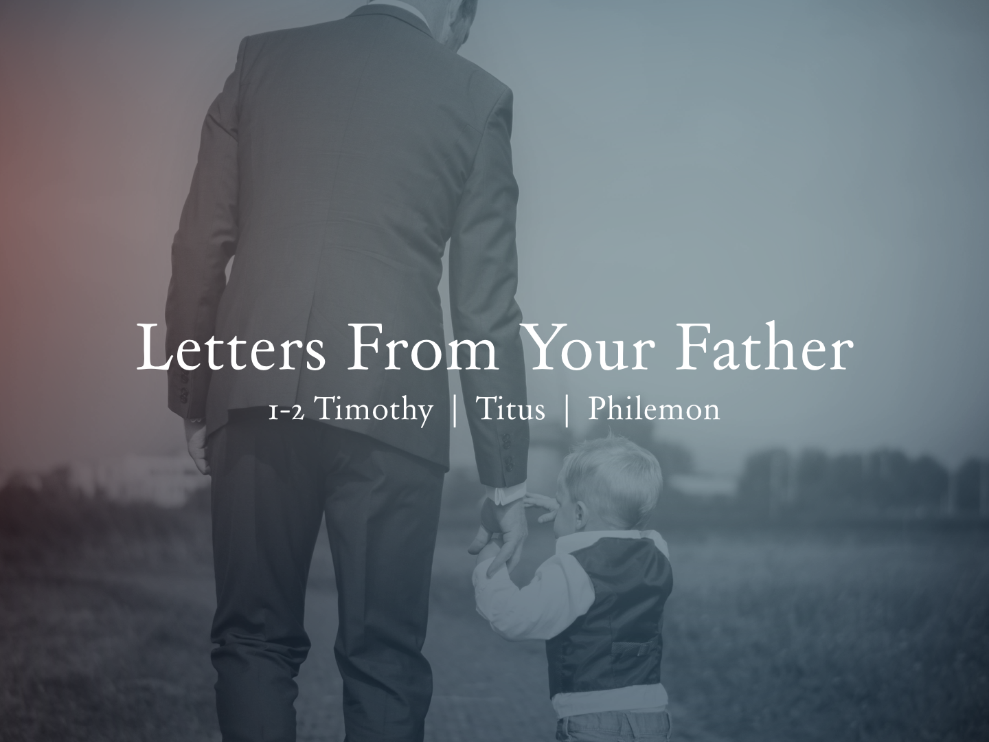 "Letters from Your Father  The short epistles of Timothy and Titus are personal letters from Paul the Apostle to young men he had worked alongside of and was now sending out to work alone. The edification and encouragement found in these letters is truly inspiring. Both of them were his ""sons"" in the faith and its clear how much he loved them. When you combine Philemon and the story of Onesimus you see the relationships Paul built and how they've impacted people for generations."