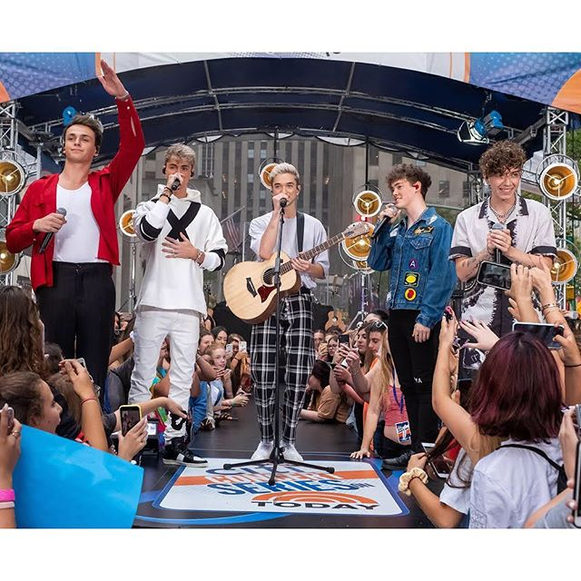 Why Don't We perform on NBC's Today show