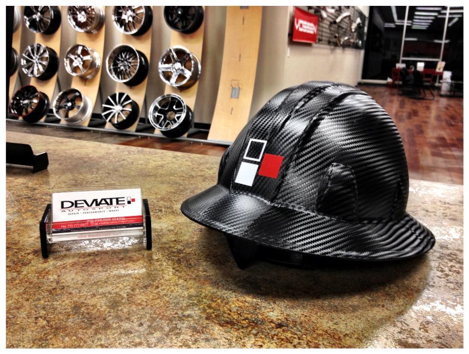 Carbon Fiber helmet? Yes >:)