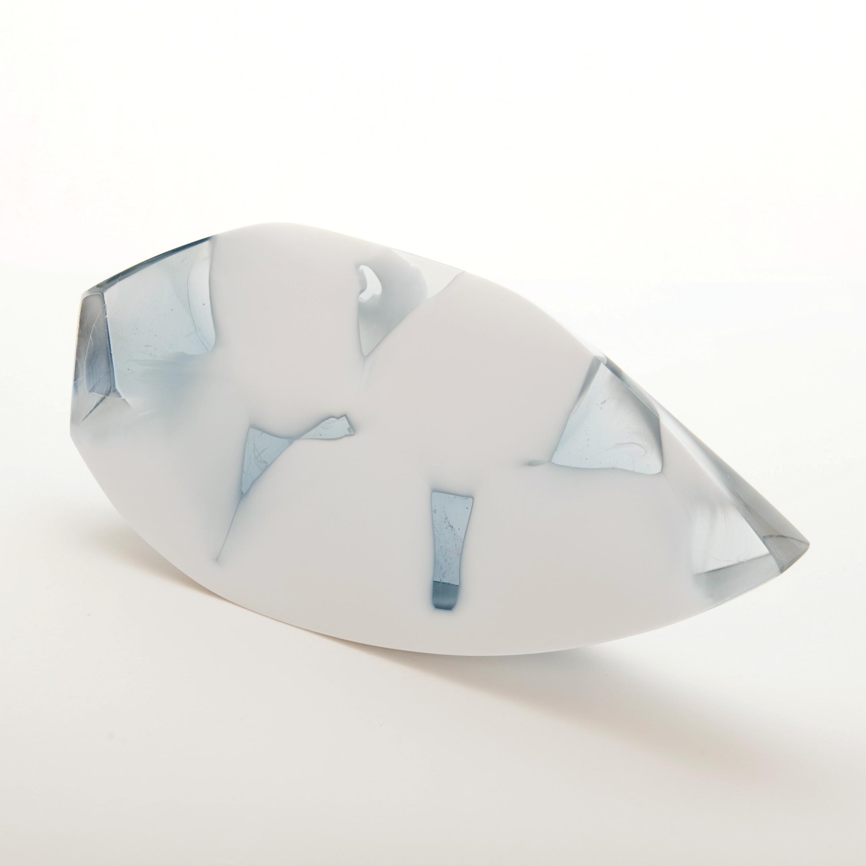 Wedge Cast Milk Glass, Dr. Jessamy Kelly