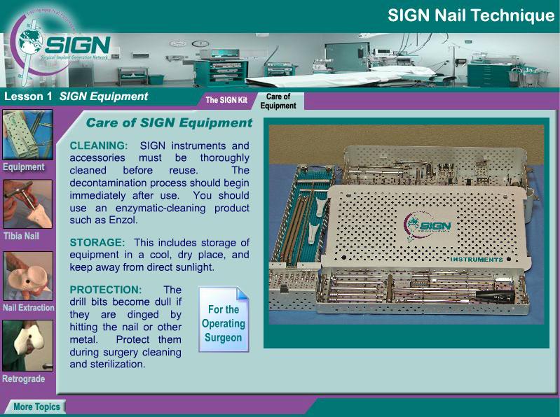 SIGN Nail Training