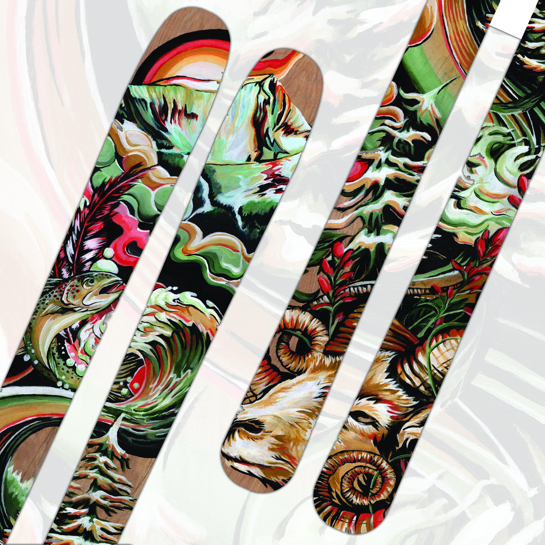 Big Sky All Mountain ski design, Arete Skis