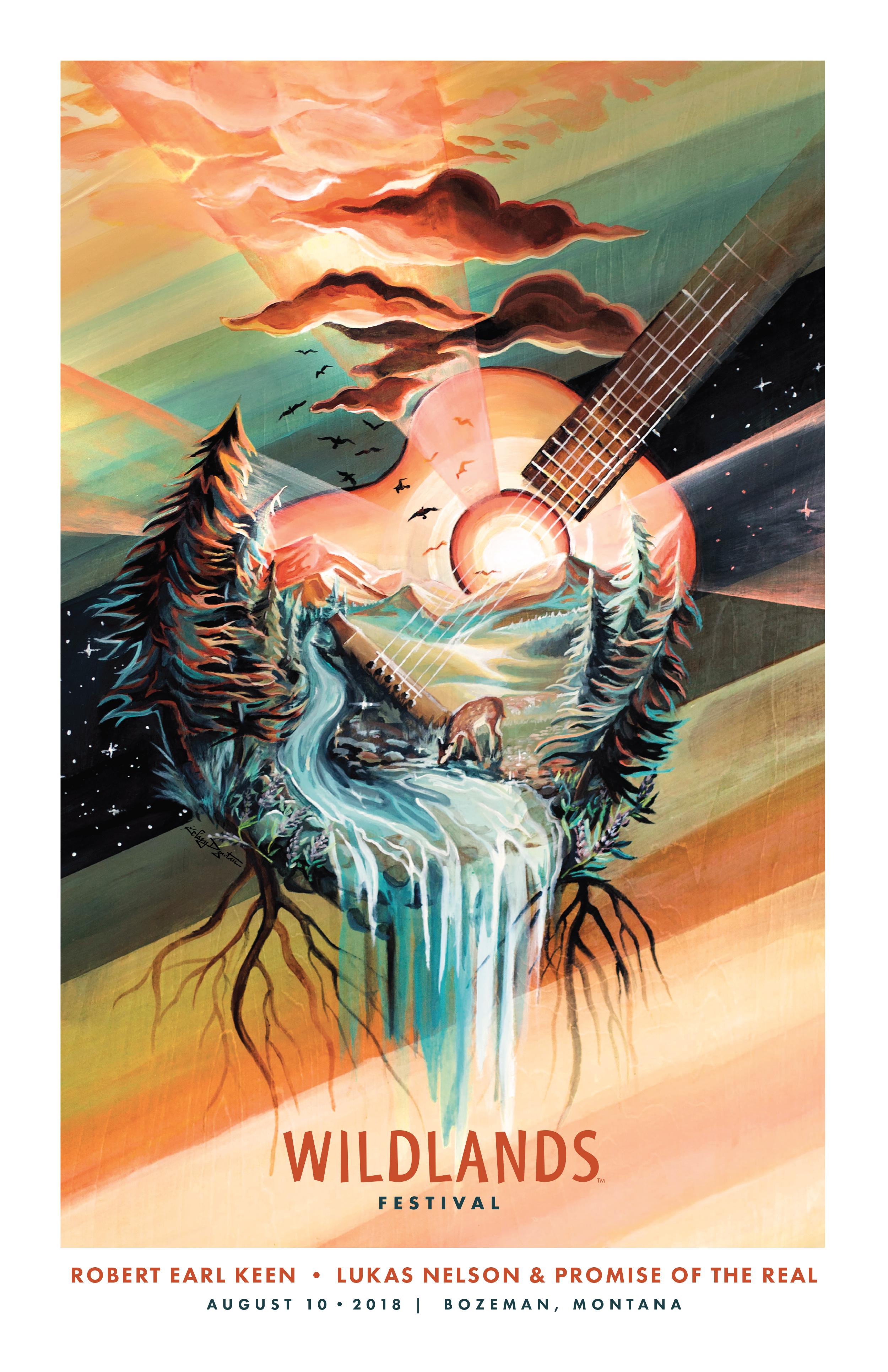 Poster Art, Wildlands Festival